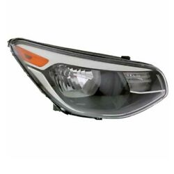 For 14-19 Soul Front Headlight Headlamp Non-projector Head Light Lamp Right Side