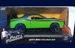 Dodge Challenger Srt8 Fast And Furious Rapido Y Furioso 12 Argentina 1/32 Scale