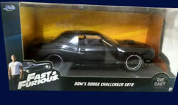 Dodge Challenger Srt8 - Fast And Furious Rapido Y Furioso 20 Argentina 1/32 Scale