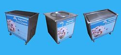 Supreme Ice Cream Rolls - Cold Slab / Freeze Plate Machine - Options Available