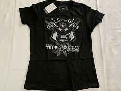 Grunt Style Glock Womens T shirt Girls with Guns New NWT True American Sm Soft $14.99