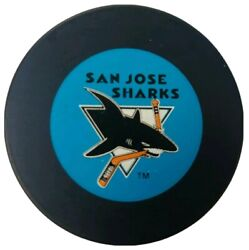 San Jose Sharks Trench Mfg. Vintage John A. Ziegler Nhl Official Game Puck 🇨🇿