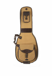 Harvest Fine Leather Tan Buffalo And Canvas Archtop/dreadnaught Acoustic Guitar...