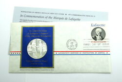 Franklin Mint Support Of Revolution Sterling Silver Proof Coin Medal Postmasters