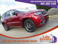 2019 Jeep Grand Cherokee Limited X 2019 Jeep Grand Cherokee Limited X 1 Velvet Red Pearlcoat Sport Utility Regular