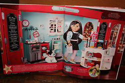 American Girl Graceand039s Thomas French Bakery Set Over 60 Accessories New