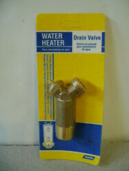 Camco 3/4 Water Heater Drain Valve No. 15104  - New -