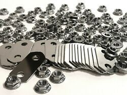 Nickel Plated Bus Bars And Stainless Nuts Kit For Gen I Toyota Prius, 2001-2003