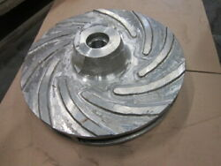 Impeller For Pump Fapmo Mbn-500 300m3/h 30m From Acid-resistant Stainless Steel