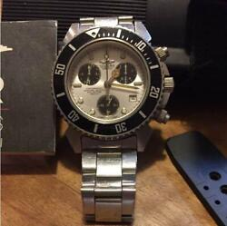 SECTOR SGE500 Swiss Diver 500m Waterproof Chronograph