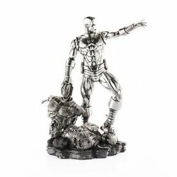 Marvel By Royal Selangor 017913r Limited Edition Iron Man And Ultron Randeacuteplique