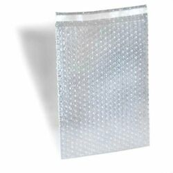 250 10 X 15.5 Clear Bubble Out Bag Protective Wrap Pouch Self Seal Free Shipping