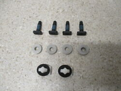 07 To 14 Gm License Plate Light Applique Hardware T Head Bolts Tabs Screws