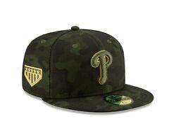 Philadelphia Phillies New Era Mlb Armed Forces Day On-field 59fifty Hat