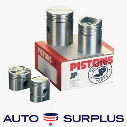 Chevrolet 216 Straight 6 Cylinder Flat Top Piston And Ring Set 040 1941-1953 Jp