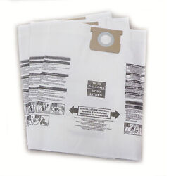 Shop Vac Type J 906-73-00 16-22 Gallon Vacuum Cleaner Bags By Dvc Made In Usa