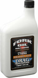 Drag Specialties V-twin Motorcycle Fork Oil | 10w | 1 Quart | Case Of 12