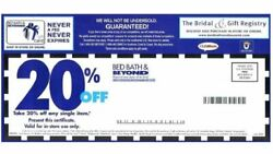Bed, Bath, And Beyond Coupons 37 20 Off , 3 10. Off, 4 5.00 Off, 1 15 Off