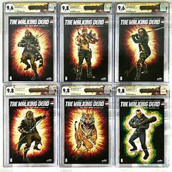The Walking Dead All Out War 1-12 Cgc Signature Series 9.6 9.8 All Signed Set