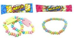Candy Necklace Sweets Party Bag Fillers Treats Favours Kids Pick N Mix