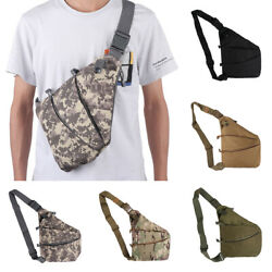 Shoulder Concealed Chest Bag  Tactical Storage Nylon Holster Anti-theft Pouch