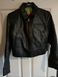 Vintage Clothing 1930and039s Ladies Leather Jacket Brand New Please Read