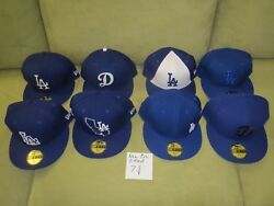 La Dodgers Collection Of 96 Hats All New Condition