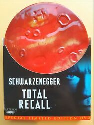 Total Recall - Special Limited Edition Mars Tin Dvd, Like New, Free Post Fromnsw