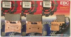 Ebc Sintered Front And Rear Brake Pads Fits Ducati Monster 900 Ie 2000 To 2001