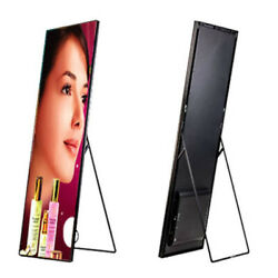 P3 Indoor Led Poster Frame Display Full Color Mirror Screen For Shop Advertising
