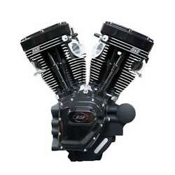 T124 Sands Cycle Twin Cam Hd Engine Black Edition 07+ Touring 640 Cams