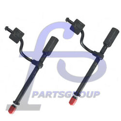 2pc 1w5829 Fuel Nozzle Injector For Caterpillar Industrial Models 943 953 D3b