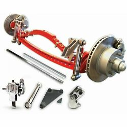 1935 1941 Super Deluxe Drilled Solid Axle Kit Fits Ford Cars And 1/2 Ton Trucks