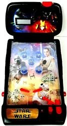 Star Wars The Force Awakens Tabletop Pinball Machine 2009 Light Up Action Scores