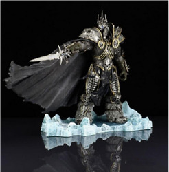 Wow World Of Warcraft Arthas Menethil Lich King Action Figure Statue Toy 21cm