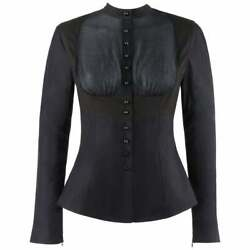 Alexander Mcqueen S/s 2005 It's Only A Game Two Tone Button Down Harness Shirt