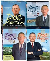 Doc Martin Complete Series Seasons 1-9 + Movies Dvd 24-discs Region 1 For Usa