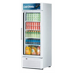Turbo Air Tgm-23sd-n6 27 One Section Merchandiser Refrigerator With Glass Do...
