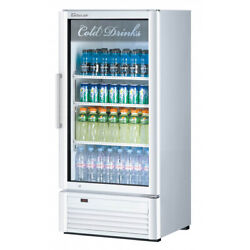 Turbo Air Tgm-10sd-n6 25 One Section Merchandiser Refrigerator With Glass Do...
