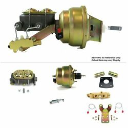65-70 Chevy Impala Full Size Firewall Mount Power 7 Dual Booster Kit Disc/drum