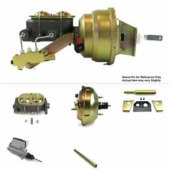 1960-62 Chevy Truck Mt Fw Mount Power 11 Dual Booster Kit Drum/drum Classic Pro