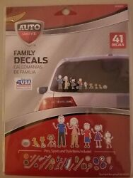Auto Drive Family Decals New 41 Decals