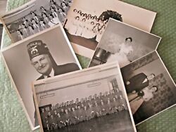 1940s-1970s Shriners Masons Jobs Daughters Black And White Photographs 8x10 And 5x7