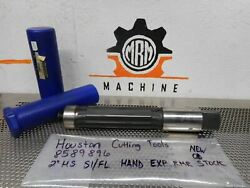 Houston Cutting Tools 8589896 2 Hs S1/fl Hand Exp Rmr New Old Stock