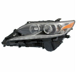 For 16-18 Es300h And Es350 Front Headlight Headlamp Halogen Head Light Driver Side