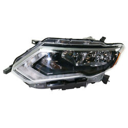 For 17 18 19 Rogue Front Headlight Headlamp Halogen Head Lamp W/bulb Driver Side