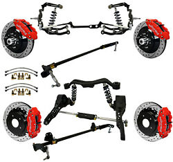 Ridetech Coiloversteering Systemboth Sway Barswilwood Disc Brakes13 Drlred