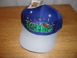 Seattle Seahawks Junior Youth Hat Cap Nwt Free Shipping