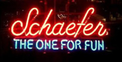 New Schaefer Beer The One For Fun Open Beer Bar Neon Light Sign 24x20