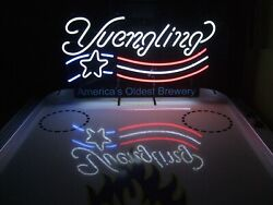 New Yuengling Lager Us Flag Americaand039s Oldest Brewery Bar Neon Sign 24x20